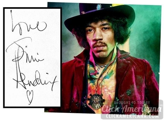Autographs from 11 lost music legends - Click Americana