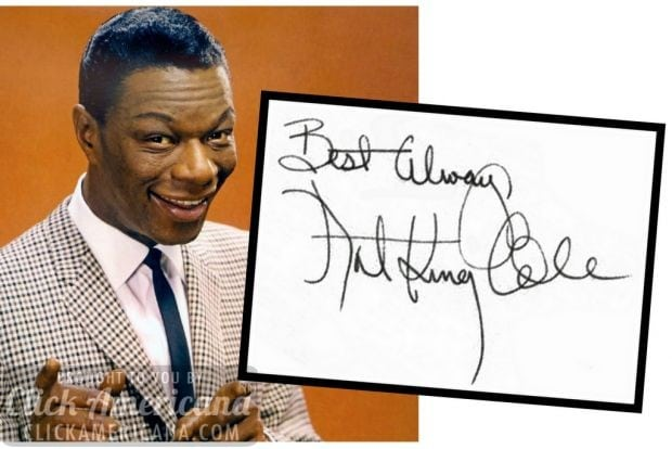 autograph-nat-king-cole
