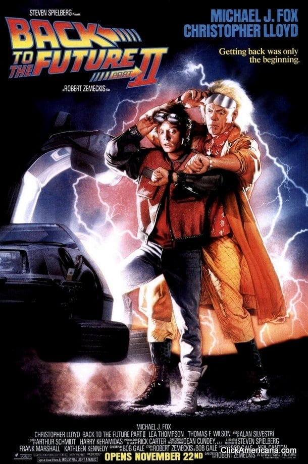 Back to the Future 1, 2 & 3 movie posters - Click Americana