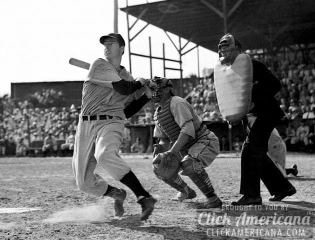 Joe DiMaggio's baseball record: 56-game hit streak (1941)