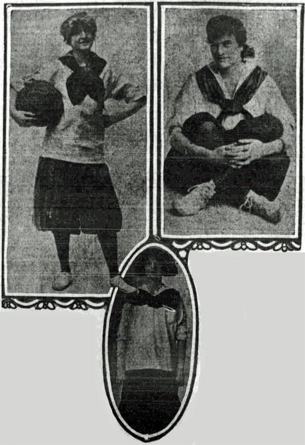Allow men at women's basketball games? (1916)