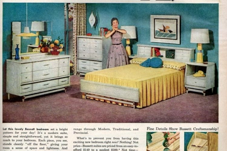 Wake Up In A Bright New Bedroom 1956 Click Americana,Home Garden Plants Names And Pictures