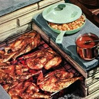 Jiffy BBQ sauce & French dressing recipes (1955)