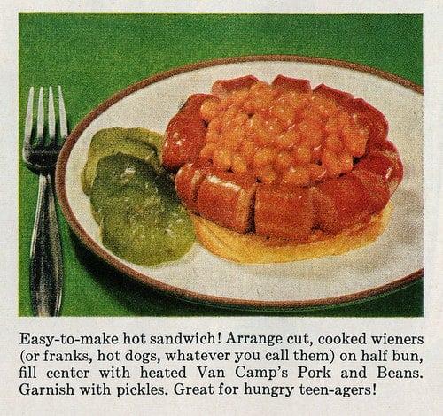3 ways to enjoy beans 'n wieners (1961)