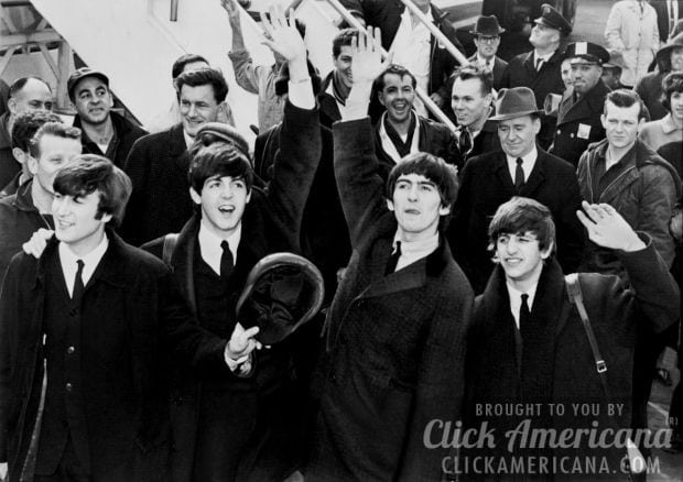 Dad takes dare: Attends Beatles concert (1965)