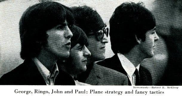 Secret passage: The Beatles invade (1965)