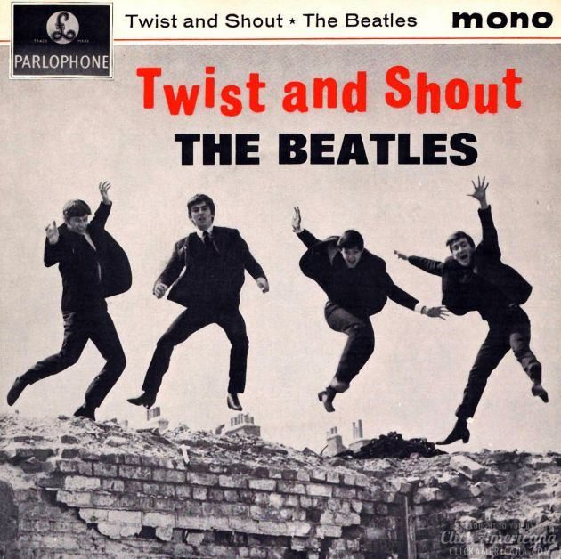 beatles twist and shout album 1963