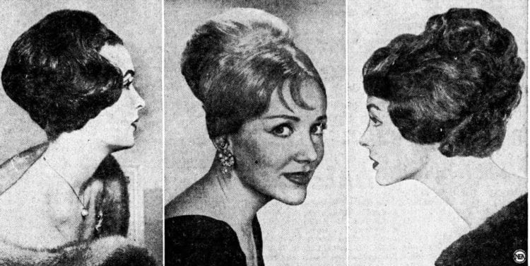 Hello, beehive! The hot hairstyle of 1960
