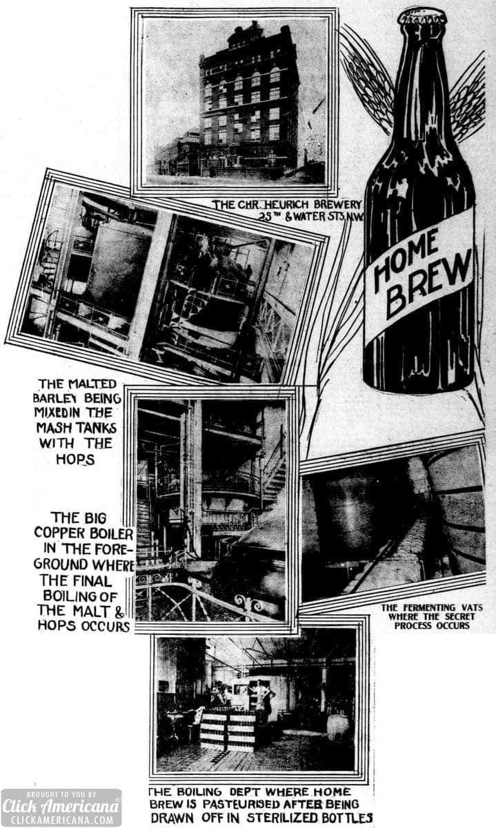 The evolution of home brew beer (1914)