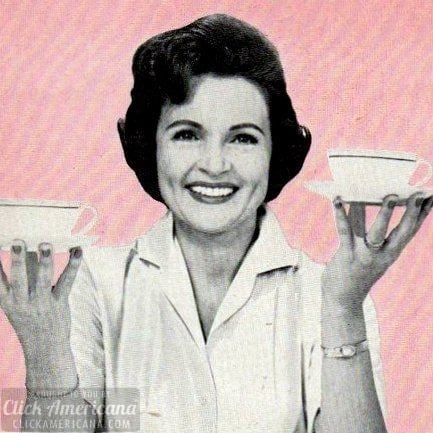 Betty White for Luzienne coffee & chicory (1964)