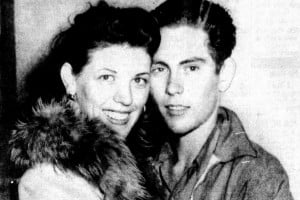 When 14-year-old 'Woo Woo Kid' Sonny Wisecarver got married in 1944, the scandal made national headlines
