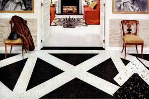 17 fabulous examples of fun & fashionable flooring from the fifties