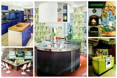 16 kitchen islands Home inspiration from the 60s