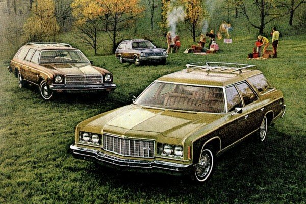See 17 different vintage Chevrolet station wagons from the '70s, including Chevelle, Caprice, Vega & others
