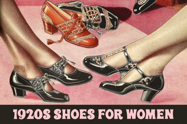 1920s shoes for women: Stylish footwear from a century ago