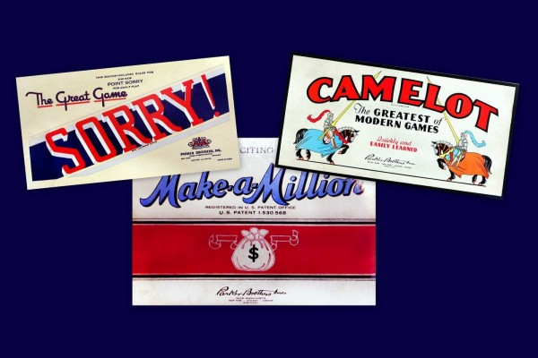 Popular vintage board games from the '30s & '40s