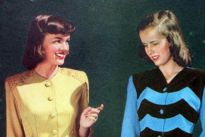 Old-fashioned maternity wear: Take a look back at the era when women tried to hide pregnancy