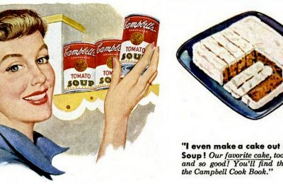 Magic tomato soup cake recipes from the '50s & '60s