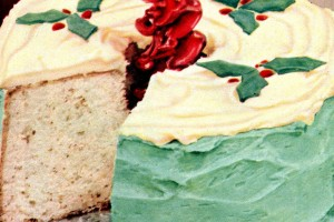 10 pretty vintage Christmas cake recipes – with holiday flavors like chocolate, gingerbread, cherry & more