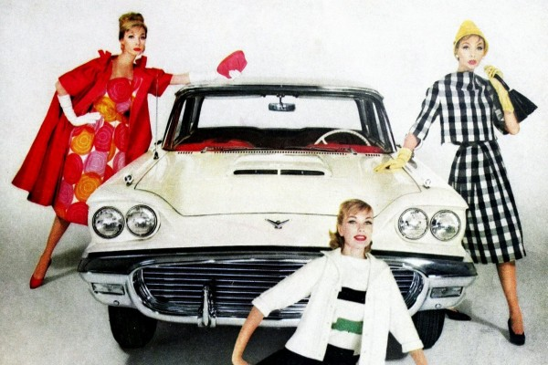 See how much 1950s Ford Thunderbirds changed during their first years on the road