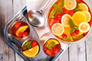 38 cool, non-alcoholic drinks for an old-fashioned party punchbowl