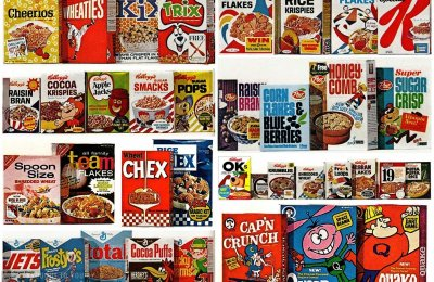 40 favorite vintage breakfast cereals from the '60s
