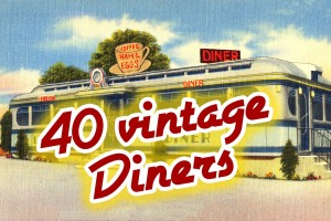 See these 40 vintage diners from the '40s (and try the blue-plate special!)
