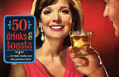 50 Madmen-era vintage drink recipes & how people would toast in the '60s