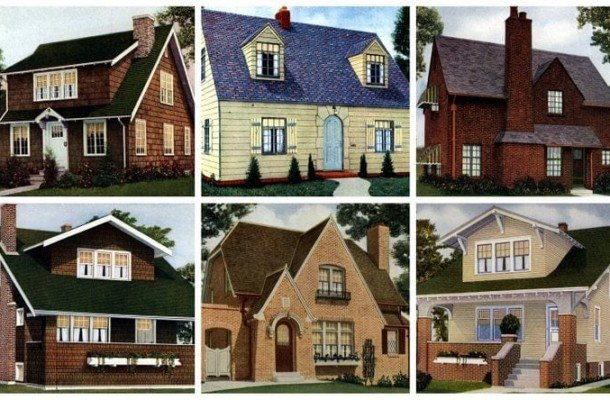 62 beautiful vintage home designs & floor plans from the 1920s
