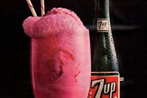 7-Up float: Combine Seven-Up soda & ice cream for a truly retro treat