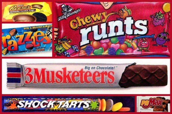 90s candy - Popular and totally fly sweet treats