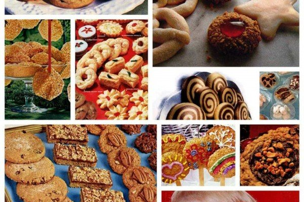 160+ vintage Christmas cookie recipes