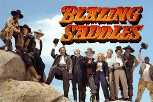 'Blazing Saddles' was Mel Brooks' hilarious take on the Western movie (1974)