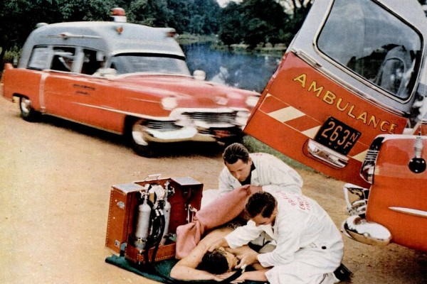 Ambulances from the 1950s: Vintage rescue vehicles