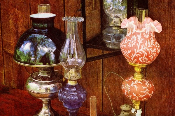 The beauty of antique kerosene lamps – and how one invention changed the way people lived