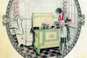 Antique kitchen ranges from the '20s & '30s