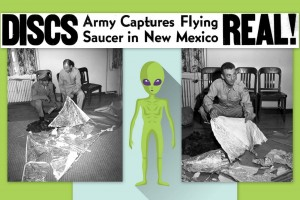 Are flying saucers real? Roswell UFO mystery enthralls the nation (1947)