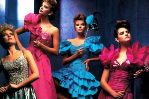 Pretty in pink: The hottest styles & colors for '80s prom dresses