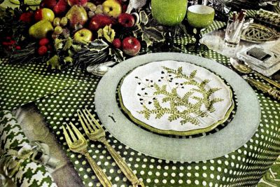 Beautiful vintage '70s table setting ideas