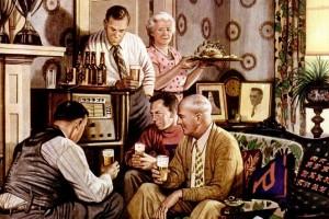 Beer belongs – enjoy it! 20 quaint scenes from the '40s & '50s