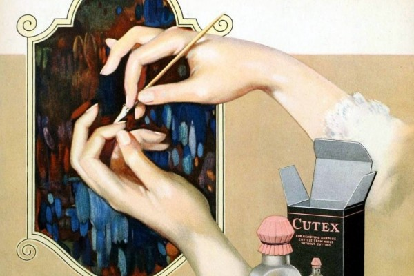 Vintage manicure how-tos & products that women used to use for pretty nails