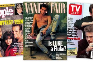 Beverly Hills, 90210 star Luke Perry says he's no James Dean (1991)