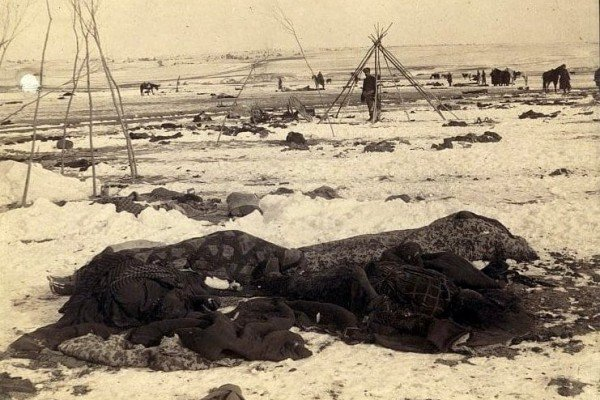 The history of the Wounded Knee Massacre: Reports from the scene, and later perspectives