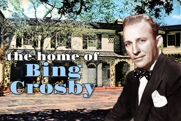 See inside Bing Crosby's house from 1950 for some classic celebrity style