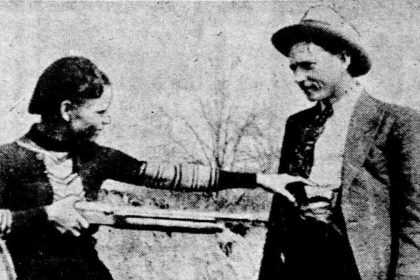 The real Bonnie & Clyde: Texas officers trap and kill notorious duo in shootout (1934)