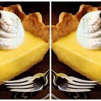 Borden holiday eggnog pie, a classic Christmas dessert recipe
