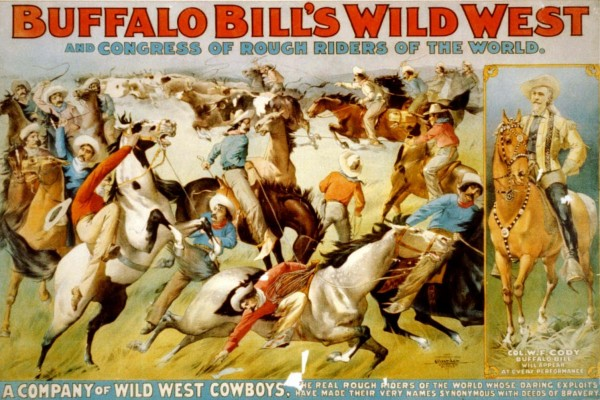 Find out about old Buffalo Bill's Wild West & Congress of Rough Riders of the World