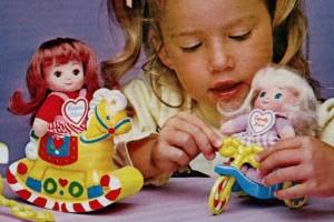 Vintage '80s Playskool toy sets: Candy Land Kids, Sesame Street & Village Blocks