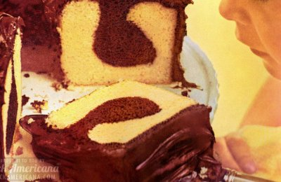 Chocolate Intrigue Cake: The delicious Bake-Off winning chocolate syrup pound cake recipe from 1962