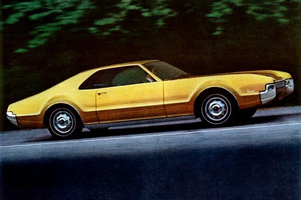 Why classic '60s Oldsmobile Toronados were 'rocket action' cars